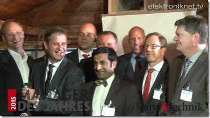 Germany: Rahman Jamal award Manager of the Year in the category of Test & Measurement
