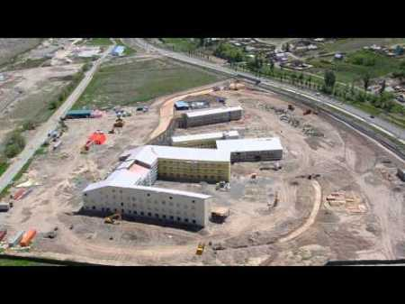 University of Central Asia's Naryn Campus Taking Shape