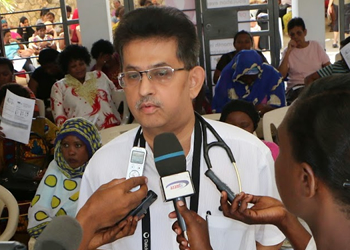 Dr. Mustaafa Bapumia, Medical Director at Aga Khan Hospital (Image credit: IPP Media)