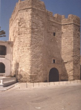 Al-Saqifa al-Kahla, Mahdiyya, tenth century, with later additions (Photo: Jonathan M. Bloom)