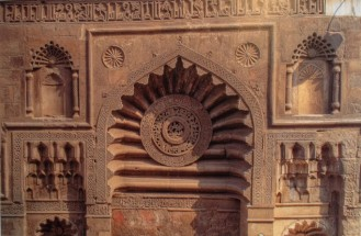 Facade of Aqmar Mosque (Image: Jonathan M. Bloom)