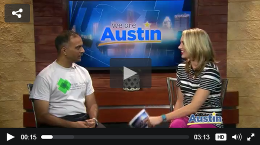 Ahmed Moledina on KEYE TV: Aga Khan Foundation Run Austin
