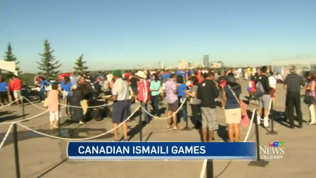 CTV News: Canadian Ismaili Games on in Calgary