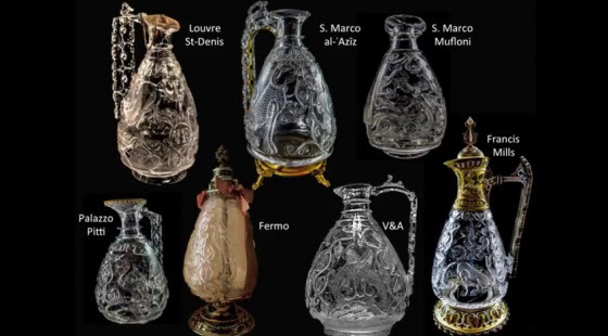 """The Mgnificent Seven"" - The Great Fatimid Rock Crystal Ewers Carved for the Fatimid Imams"