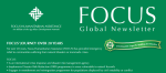 July 2015 FOCUS Humanitarian Newsletter