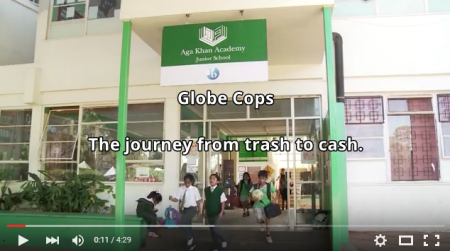 GLOBE COPS: Aga Khan Education Services, Nairobi teaches young people to be more environmentally friendly