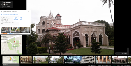 Google marks India's Independence day with virtual tour - Aga Khan Palace