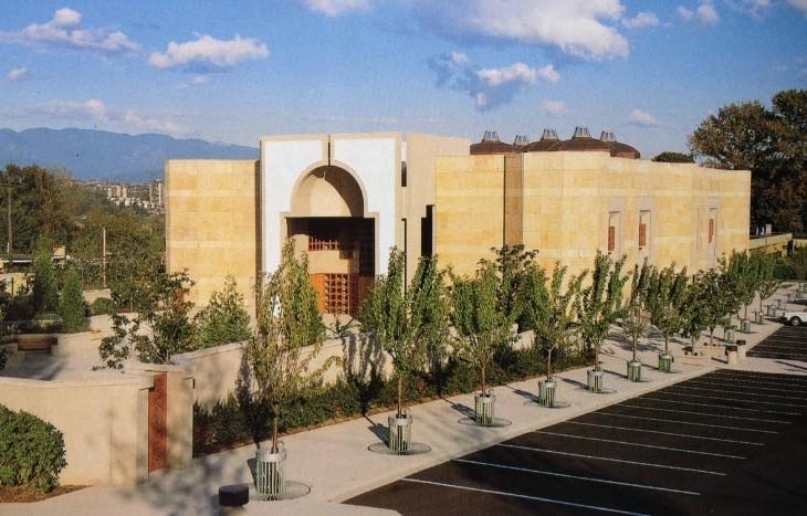 Ismaili Centre Burnaby (Photo: The Ismaili Jamatkhana and Centre/Gary Otte)