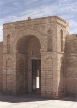 Mahdiyya Mosque portal completed in 921 (Photo: Jonathan Bloom)