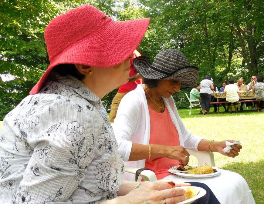 Ismailis enjoy food and fellowship at the annual Ottawa picnic
