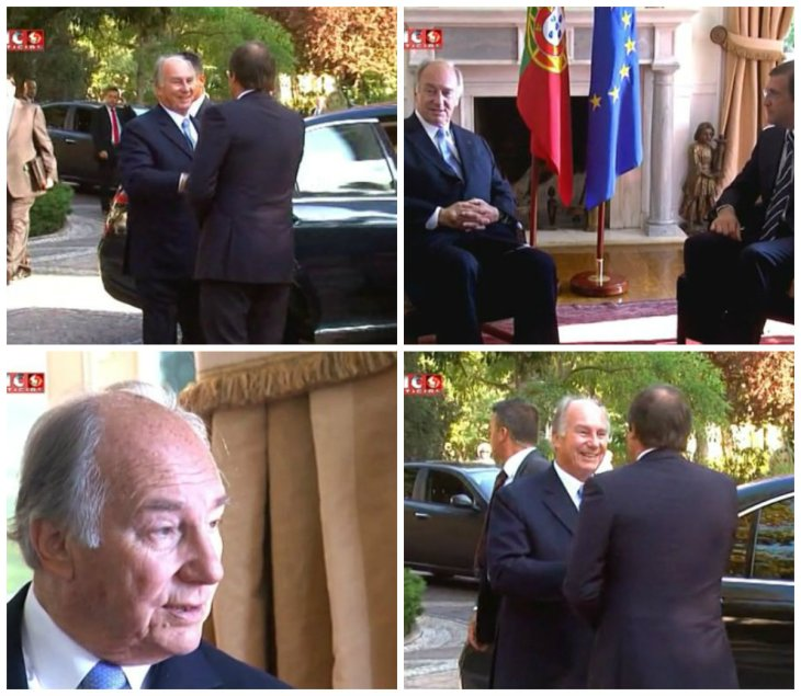 """Video of the Signing Ceremony Establishing """"Seat of the Ismaili Imamat"""" in Portugal"""