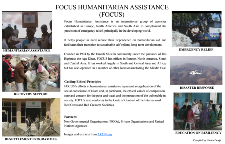 Quote Posters: FOCUS Humanitarian Assistance