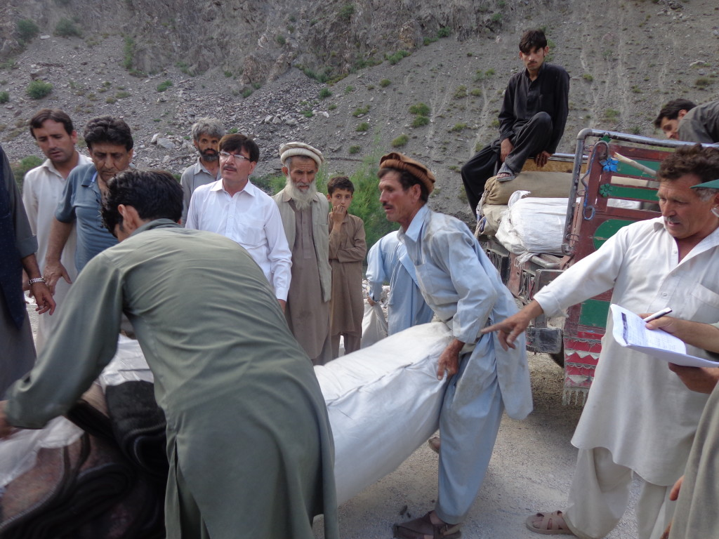 574 families provided relief goods, says Focus | ChitralToday
