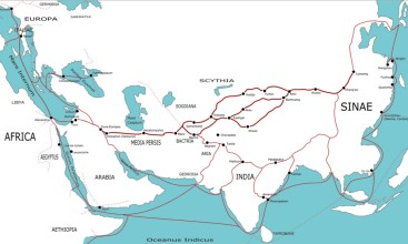 Silk Road (Image: Joshua J. Mark/Ancient History Encyclopedia)