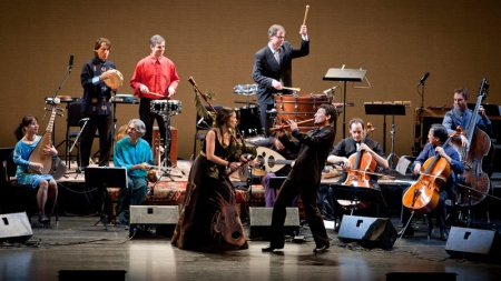 Yo-Yo Ma and the Silk Route Ensemble at Aga Khan Museum (Image credit: Max Whitakker via Aga Khan Museum)