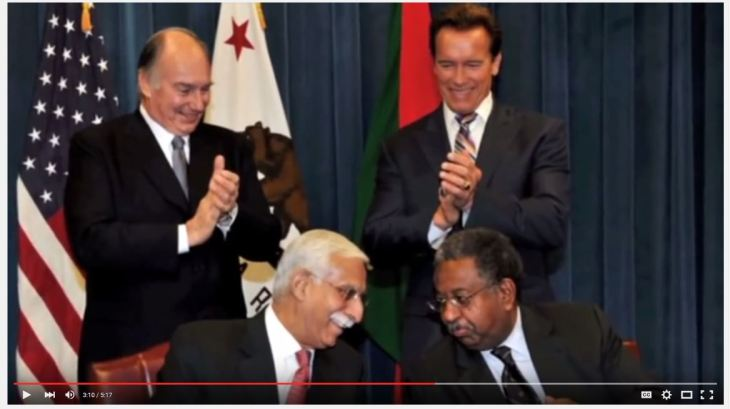 UCSF Video: 2011 UCSF Medal Recipient: His Highness the Aga Khan
