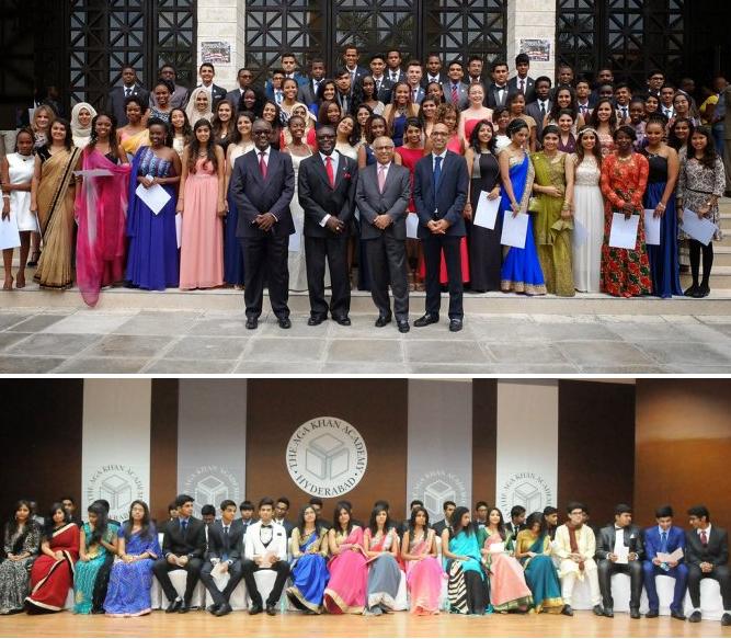 Aga Khan Academy: Mombasa, Kenya & Hyderabad. India - 2015 Graduating Class