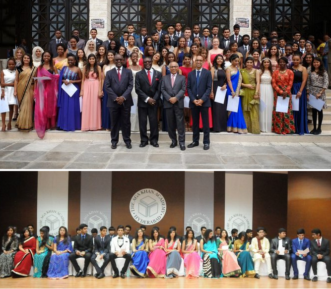 Aga Khan Academy: Mombasa, Kenya & Hyderabad. India - 2015 Graduating Class