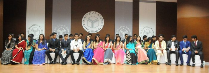 Aga Khan Academy Hyderabad India - 2015 Graduating Class