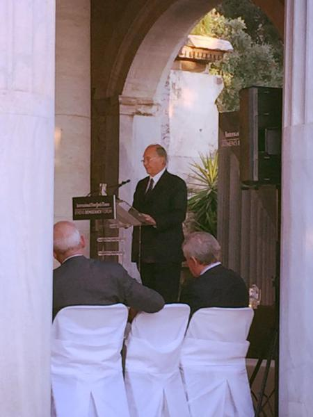 Tweeter Report: His Highness the Aga Khan at Athens Democracy Forum