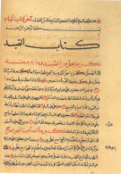 Manuscript of a page from the Da'a'm al-Islam copied mid-19th century, India (Image: The Ismailis: An Illustrated History)