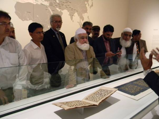 Pakistan's Minister of Religious Affairs and Interfaith Harmony visits Aga Khan Museum; acknowledges their role in Community Service & Outreach
