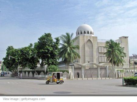Getty Images: Garden Jamatkhana, Karachi