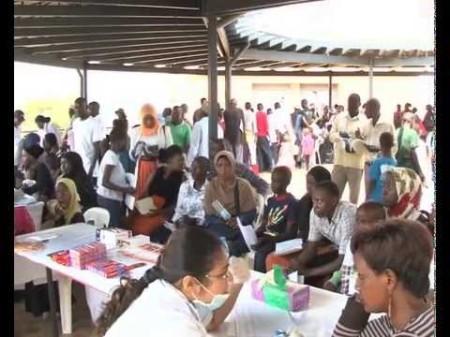 NTV Uganda: Hundreds benefit from Aga Khan University medical camp [YouTube]
