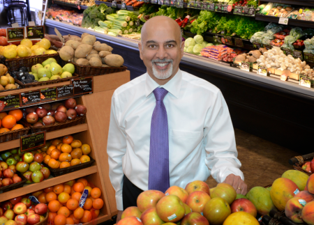 Ishkander Ahmed: A choice grocery chain executive