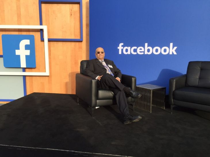 Ismail Charania: Official Interpreter at the Question & Answer Session between Mark Zuckerberg of Facebook & PM India, Narendra Modi