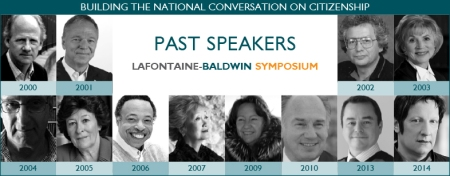 LaFontaine-Baldwin Symposium Lecture Past Speakers