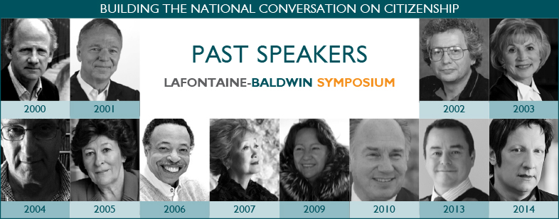 LaFontaine-Baldwin Symposium Lecture Past Speakers