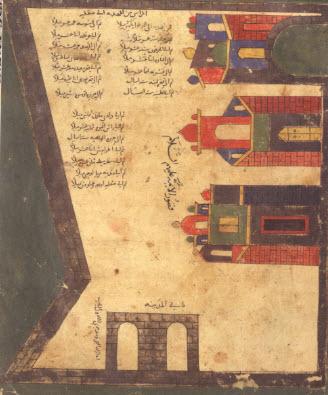 Map of the city of Mahdiyya