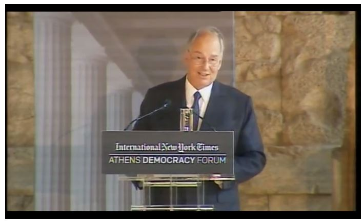 Now Showing Live Webcast of Athens Democracy Forum - His Highness the Aga Khan delivers the Keynote Address