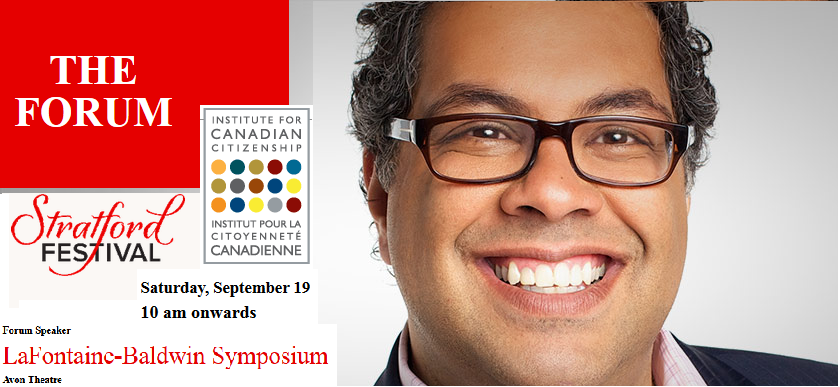 "Now Showing Livestream of ""World Mayor"" Naheed Nenshi's LaFontaine-Baldwin Symposium Lecture"