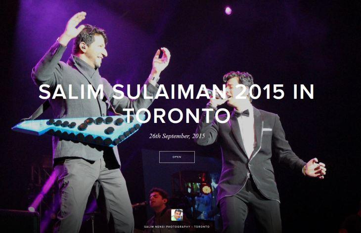 Salim-Sulaiman 2015 Toronto