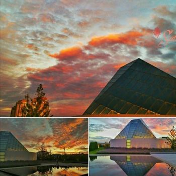 3 Awesome Photos of Sunset at ICT by Salim Nensi
