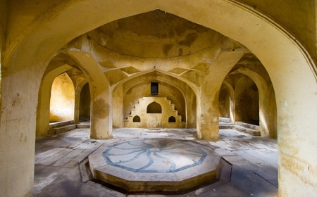 Hyderabad's Golconda Tombs, which have been restored by the Aga Khan Foundation (Image credit: Alamy via Telegraph - UK)
