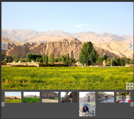 The niches and caves of Bamiyan. The larger gaps once held statues of Buddha dating back to 544 BC. (Images via DNA)