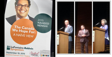 Twitter Report Naheed Nenshi's LaFontaine-Baldwin Symposium Lecture