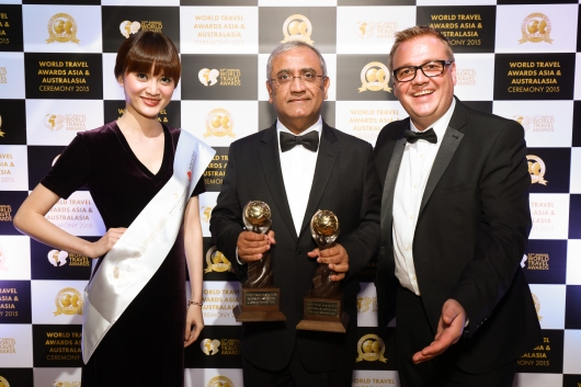 Islamabad Serena Hotel won in two categories: Pakistan's Leading Hotel & Pakistan's Leading Hotel Suite. The Kabul Serena Hotel was awarded Afghanistan's Leading Hotel and Dushanbe Serena Hotel was awarded Tajikistan's Leading Hotel. (Image via Serena Hotels)
