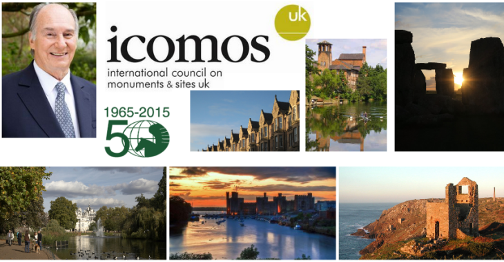 Some of the UK's renowned cultural heritage sites and landscapes, many of which are UNESCO World Heritage Site. (Images via ICOMOS)