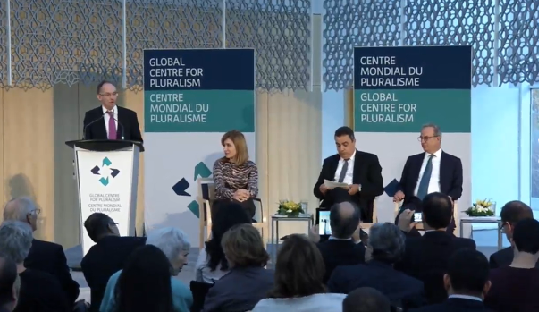 Live Webcast - Global Centre for Pluralism - Pluralism Forum - Prospects for Pluralism Post-Arab Spring - Does Tunisia suggest a way forward