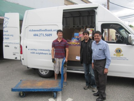 Richmond Food Bank thanks Ismaili Muslim Community