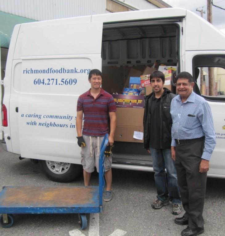 Richmond Food Bank thanks Ismaili Muslim Community