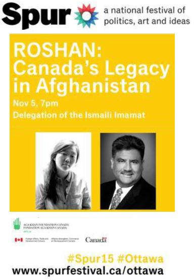 Spur - Roshan - Canada's Legacy in Afghanistan - Karim Khoja