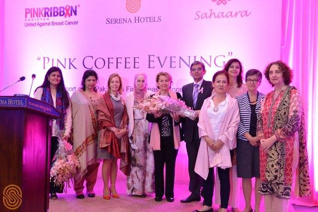 Diplomatic Community gathers to support Pakistan's first Breast Cancer Hospital