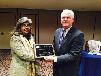 Professor Zayn Kassam receives Connolly‐Weinert Leader of the Year Award