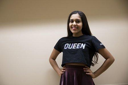 Nishiki Maredia: UT student runs business selling feminist fashion, boy band tees | The Daily Texan