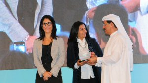 Almas Jiwani Honored at Naseba's Women In Leadership Conference in Abu Dhabi, UAE